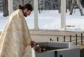 Svěcením pramene Luisa oslavili pravoslavní křesťané Křest Páně.       Foto: Christian