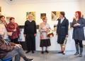 Výstava textilu a keramiky v Brömse je zahájená